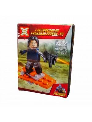 Lego Avengers serie 4001 Soldado de Invierno