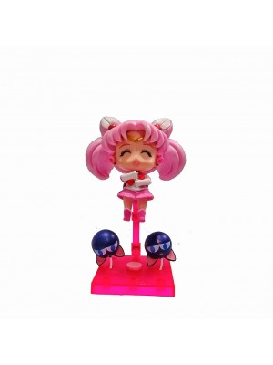 Figura Sailor Moon Chibiusa base roja