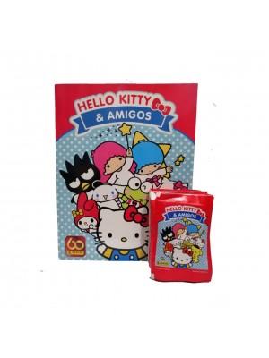 Combo 50 Figus + álbum Hello Kitty & Amigos