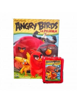 Combo 50 Figus + álbum Angry Birds