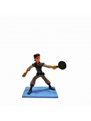 Figura Rapunzel Flynn Rider Altura 9 cm