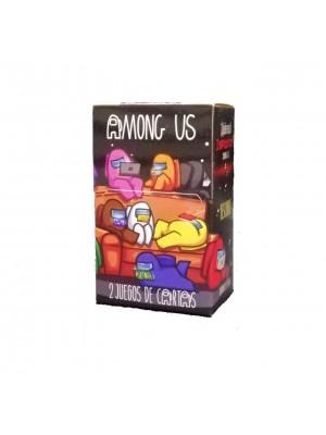 Naipe Among Us - 32 cartas