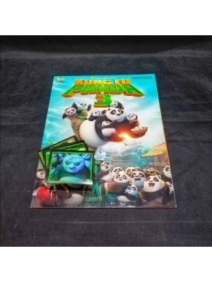 Lote de Figus x 135 unid + álbum Kung Fu Panda 3