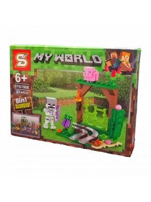 Lego Minecraft serie SY6190E