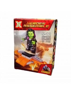 Lego Avengers serie 4001 Gamora
