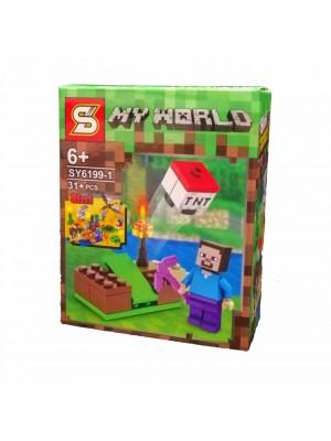 Lego Minecraft serie SY6199-1