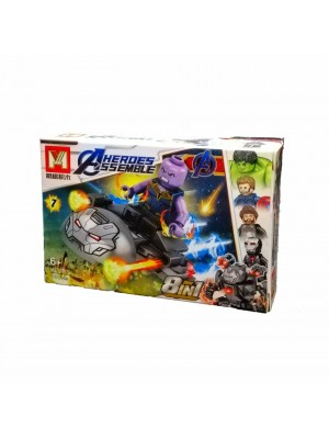 Lego Avengers serie MG2001 Thanos