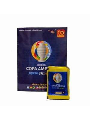 Combo 50 Figus + álbum Copa América 2021
