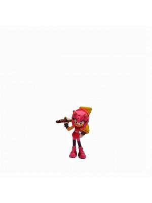 Figura Sonic Amy Rose Altura 6 cm