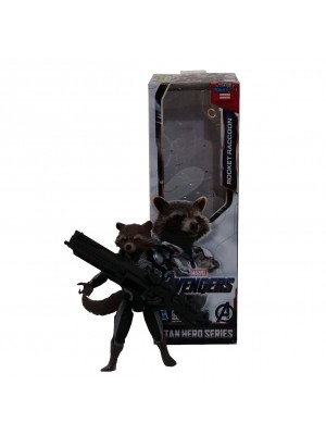 MUÑECO ROCKET RACCOON TITAN HERO SERIES