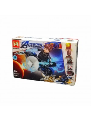 Lego Avengers serie MG2002 Black Widow