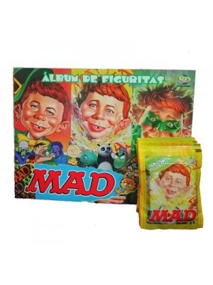 Combo 50 Figus + álbum Mad