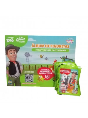 Combo 50 Figus + álbum La Granja de Zenón