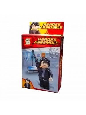 LEGO HÉROES ASSEMBLE SERIE 1121-8