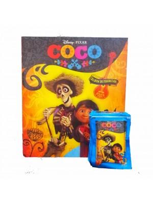 Combo 50 Figus + álbum Coco
