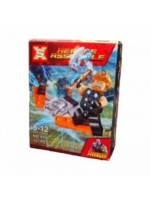 Lego Avengers serie 4001 Thor