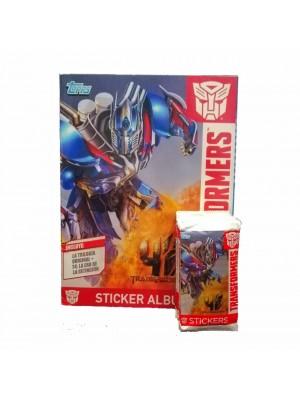 Combo 50 Figus + álbum Transformers