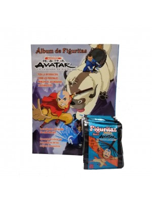 Combo 50 Figus + álbum Avatar