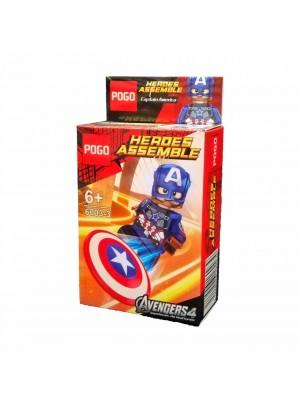 Lego Avengers serie 6003-3 Capitán América