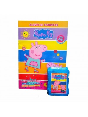 Combo 50 Figus + álbum Peppa Pig