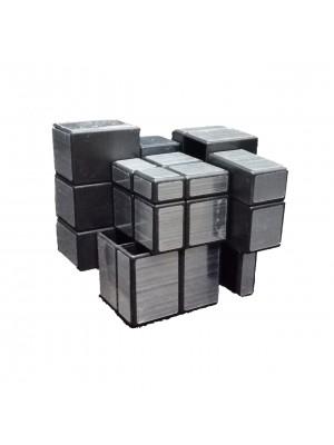 Cubo Mágico 3x3x3 Mirror Plateado