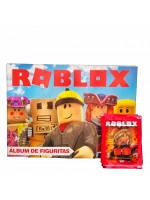 Combo 50 Figus + álbum Roblox