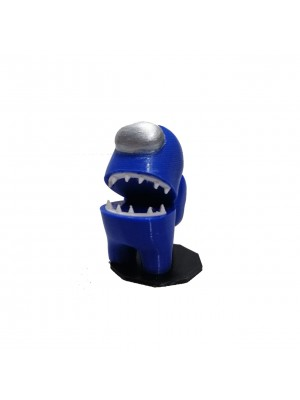 Figura Among Us Azul Altura 6 cm