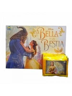 Combo 50 Figus + álbum La Bella y la Bestia