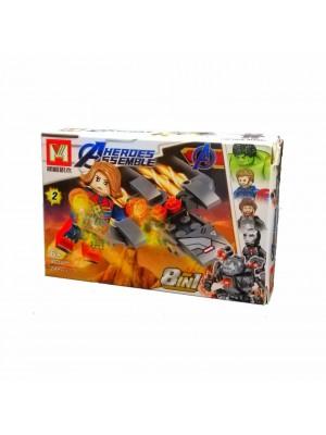 Lego Avengers serie MG2001 Capitana Marvel
