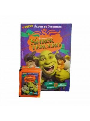 Combo 50 Figus + álbum Shrek Tercero