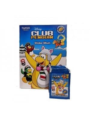 Combo 50 Figus + álbum Club Penguin