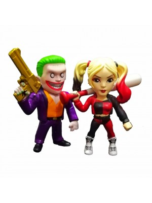 Figura original The Joker Boss & Harley Quinn - Altura 10 cm