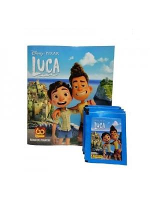 Combo 50 Figus + álbum Luca de Disney Pixar
