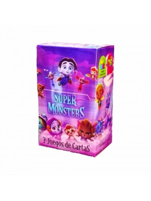 Naipe Super Monsters - 32 cartas