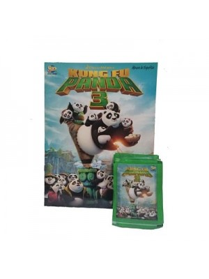 Combo 50 Figus + álbum Kung Fu Panda 3
