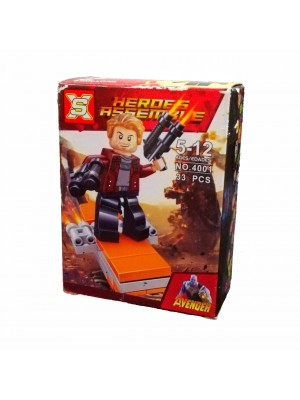 Lego Avengers serie 4001 Star Lord